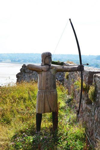 longbow statue